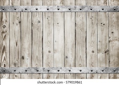 Wood with metal texture background