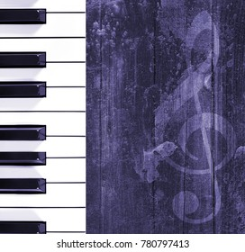 Wood musical background