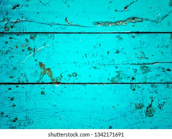wood old blue pattern background.
