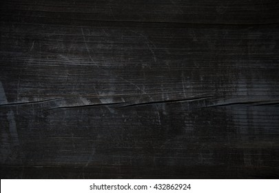 wood old vintage black wooden table pirate grunge texture background