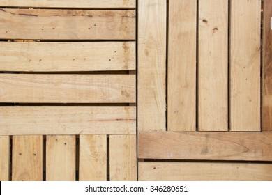 Wood  Pallet's background.