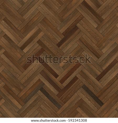 Wood Parquet Texture Herringbone Dark Brown Stock Photo Edit Now