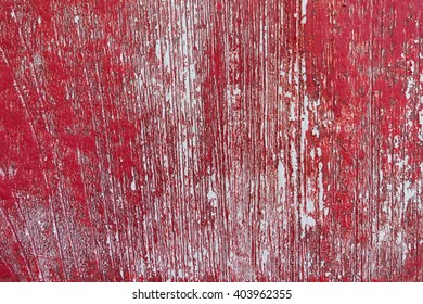 Wood pattern texture paint red color  background:Close up,select focus with shallow depth of field:ideal use for background.