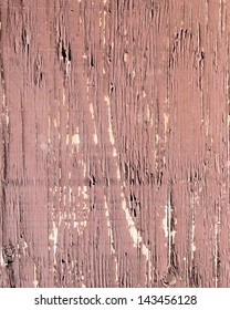 Wood With Peeling Paint