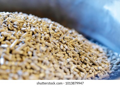 Wood pellets for heating systems
