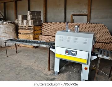 Wood pellets machine shop