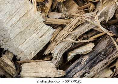 wood piled perfectly as backround