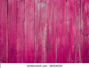 Wood plank pink texture background