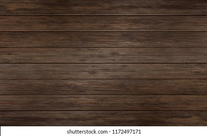 Wood plank texture background, dark wood panels