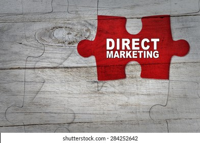 Wood Puzzle: Direct marketing