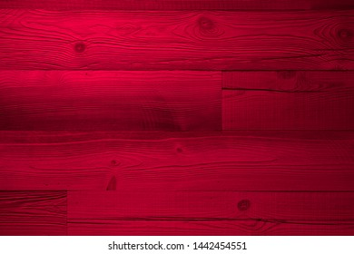 Wood red plank background surface with light