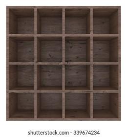 Wood shelf 3