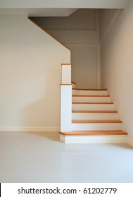 Wood stairs, interior