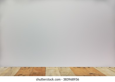wood table top with grey background