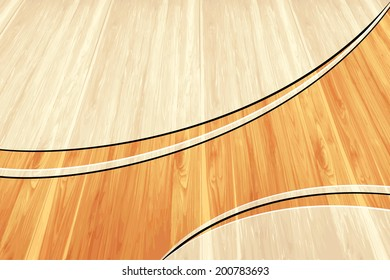 Wood Template Layout - Concept Background Design