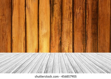 Wood terrace and Wood texture background natural color