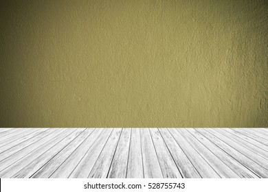 Wood terrace and Wall texture background surface natural color , process in vintage style