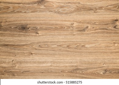 Wood Texture Background, Brown Grained Wooden Pattern, Oak Timber Desk surface