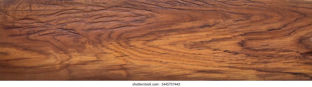 Wood texture background. Burmese teak wood plank natural texture, plank natural texture background, super long teak wood plank texture background.