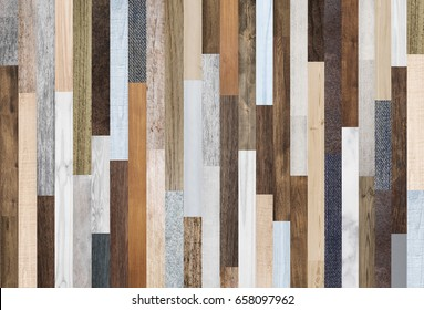 Wood texture background, colorful wood planks