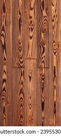 Wood texture background for design, larch toned board .