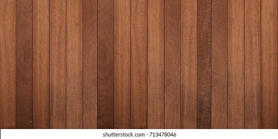 Wood texture background, panoramic wood planks