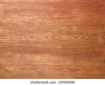 Holzstrukturhintergrund. Draufsicht des klassischen Holztisches