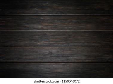 Wood texture background, vignette