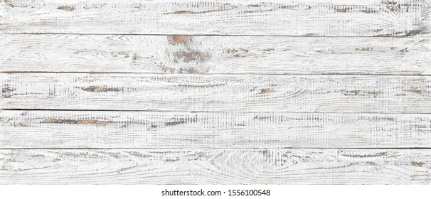 wood texture background, white wooden plank pattern
