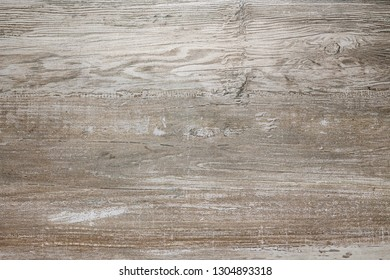 Wood texture background. Wooden board with visible jars.