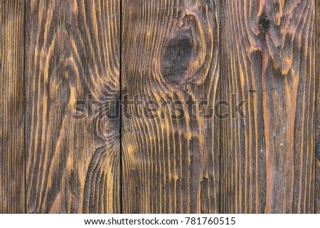 Wood Texture Of Brushed Pine Boards With Knots Abstract Background Pattern Distressed