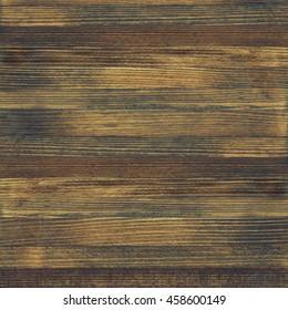 Wood texture, dark rustic wooden board background