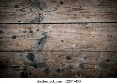 Wood texture of floorboards for a wooden background image