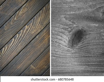 Wood texture. Lining boards wall.