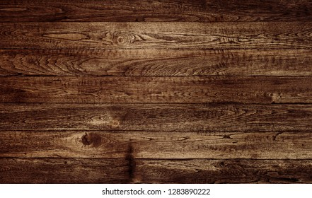 Wood texture, Natural dark brown wooden background.