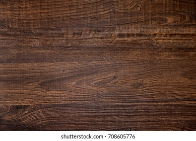 Wood texture, Natural dark brown wooden background.