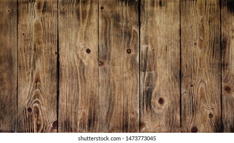 Wood texture. Natural Dark Wooden Background.