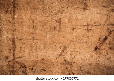 Wood texture with scratches for background and design