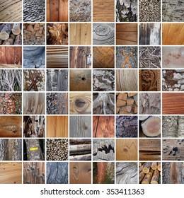 wood textures, 64 pictures
