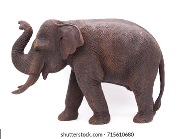 wood thai elephant
