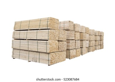 wood or timber stack