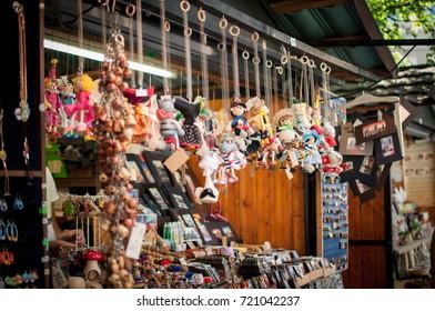 Wood toys shop