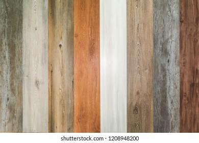 Wood vinyl tile flooring material design vertical pattern texture background
