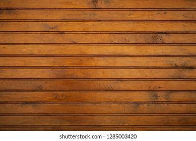 Wood wall, floor