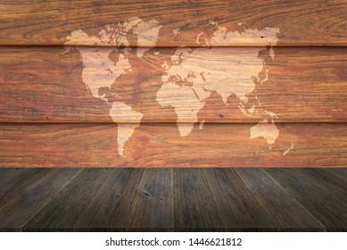 Wooden World Map Images, Stock Photos & Vectors | Shutterstock