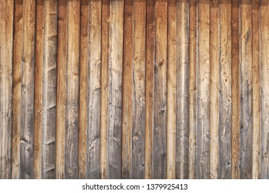wood wall natural planks rough pine vertical weathered
