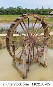 wood water turbine
