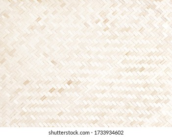 Wood weaving bamboo texture traditional handmade background