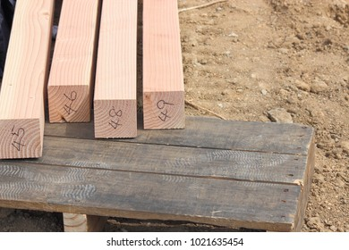 Wood for wooden houses