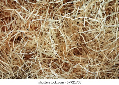 wood wool background
